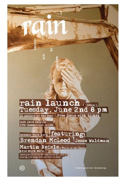 Rain Issue 3 Launch Party
