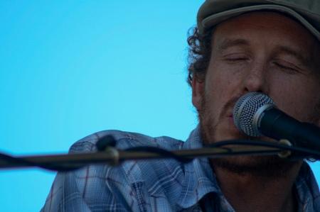 Mark Berube at 2009 Folk Fest