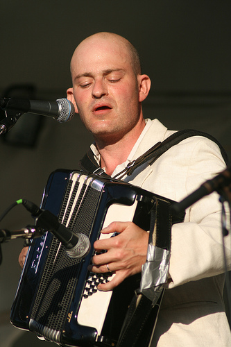 Geoff Berner at the 2009 Folk Fest